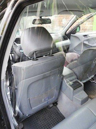Becker Healthcare S1 - osłona ochronna / antywirusowa 140x170cm dedykowana do samochodów osobowych